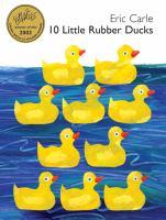 Cover image for 10 little rubber ducks