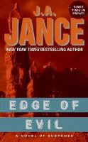 Cover image for Edge of evil