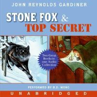 Cover image for Stone Fox Top secret
