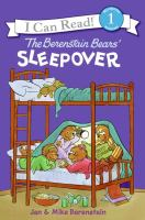 Cover image for The Berenstain Bears' sleepover