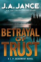 Cover image for Betrayal of trust