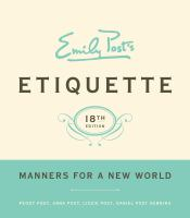 Cover image for Emily Post's etiquette
