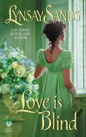 Cover image for Love is blind