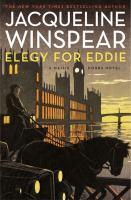 Cover image for Elegy for Eddie : a Maisie Dobbs novel