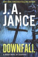 Cover image for Downfall : a Brady novel of suspense
