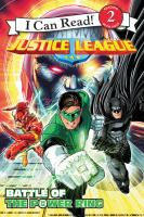 Cover image for Justice League. Battle of the power ring