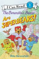 Cover image for The Berenstain Bears are superbears!