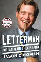 Cover image for Letterman : the last giant of late night