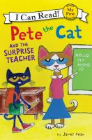 Cover image for Pete the cat and the surprise teacher