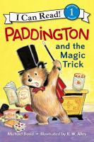 Cover image for Paddington and the magic trick