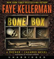 Cover image for Bone box a Peter Decker/Rina Lazarus