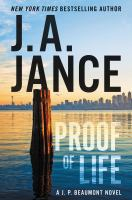 Cover image for Proof of life : a J. P. Beaumont Novel