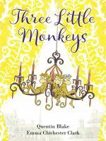 Cover image for Three little monkeys