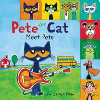 Cover image for Pete the cat. Meet Pete