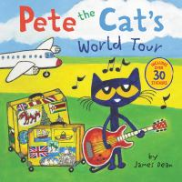 Cover image for Pete the cat's world tour