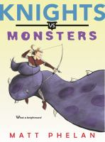Cover image for Knights vs. monsters
