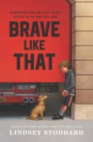 Cover image for Brave like that