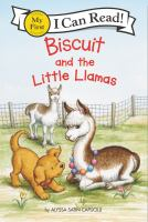 Cover image for Biscuit and the little llamas