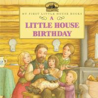 Cover image for A little house birthday