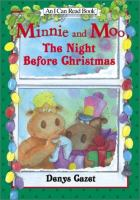 Cover image for Minnie and Moo : the night before Christmas