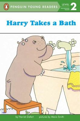 Cover image for Harry takes a bath
