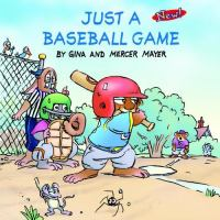 Cover image for Just a baseball game