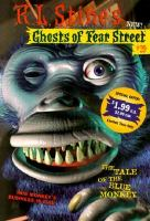 Cover image for The tale of the blue monkey