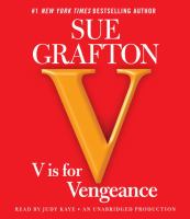 Cover image for V is for vengeance