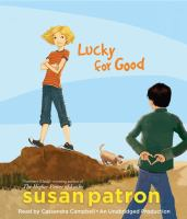 Cover image for Lucky for good