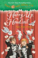 Cover image for Magic tree house, a Merlin mission. #50, Hurry up, Houdini!