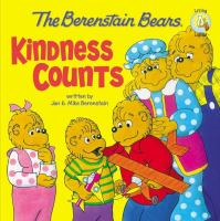 Cover image for The Berenstain Bears : kindness counts