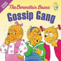Cover image for The Berenstain Bears' gossip gang