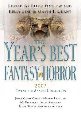 Cover image for The Year's best fantasy and horror