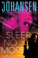 Cover image for Sleep no more : an Eve Duncan novel