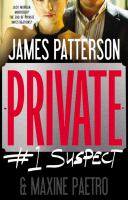 Cover image for Private : #1 suspect