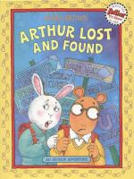 Cover image for Arthur lost and found