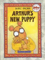 Cover image for Arthur's new puppy