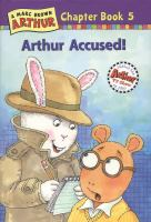 Cover image for Arthur accused!