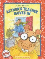 Cover image for Arthur's teacher moves in