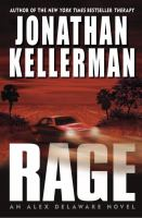 Cover image for Rage : an Alex Delaware novel