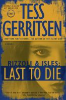 Cover image for Rizzoli & Isles. Last to die