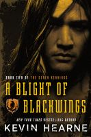 Cover image for A blight of blackwings