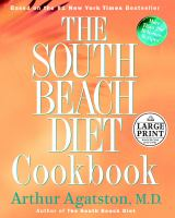 Cover image for The South Beach diet cookbook