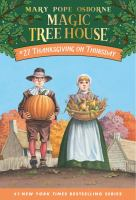 Cover image for Magic tree house. #27, Thanksgiving on Thursday