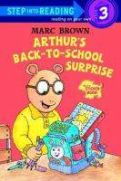Cover image for Arthur's back-to-school surprise