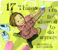 Cover image for 17 Things I'm not allowed to do anymore