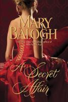 Cover image for A secret affair