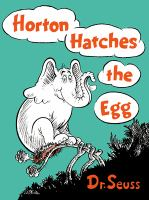 Cover image for Horton hatches the egg