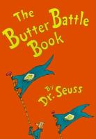 Cover image for The butter battle book