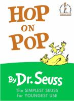 Cover image for Hop on pop